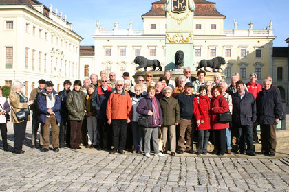 Ausflug nach Ludwigsburg zur Kürbisausstellung