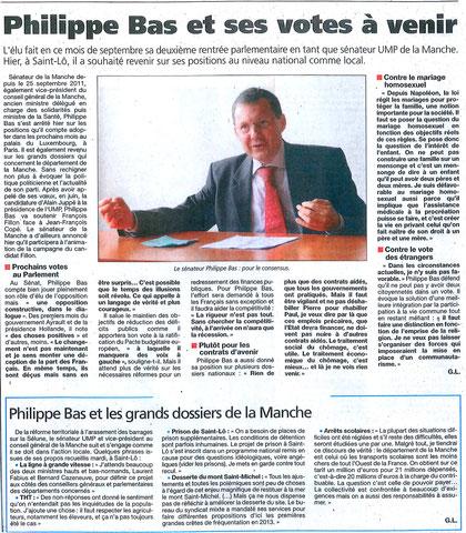 Presse de la Manche, 19.09.2012