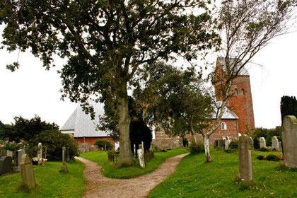 St. Laurentii Kirchhof, Friedhof Süderende auf Föhr
