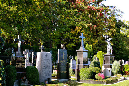 Impression,  Friedhof Starnberg an der Hanfelder Straße