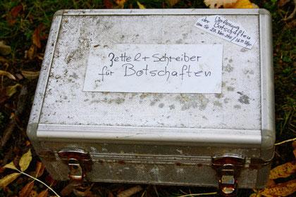 Kunstprojekt, Parkfriedhof Ohlsdorf, Hamburg