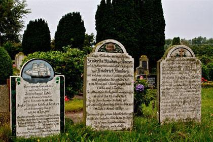 Impression, Friedhof Süderende auf Föhr