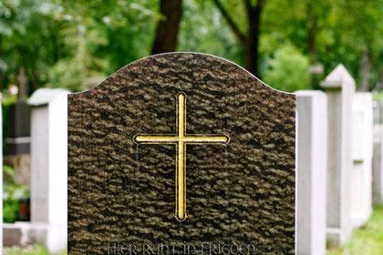 Symbol, eingraviertes Kreuz