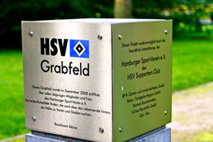 HSV-Grabfeld, Friedhof Altona, Hamburg