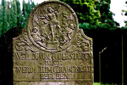 Impression, Friedhof Boldixum (OT Wyk) auf Föhr