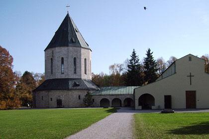 Aussegnungshalle, Friedhof am Perlacher Forst