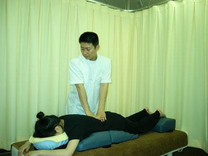 つるかめ鍼灸養生院の指圧・整体治療