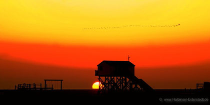Sonnenuntergang St.Peter-Ording