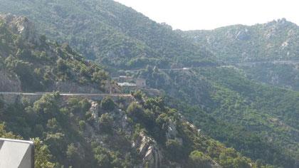 SS 125 oberhalb Dorgali