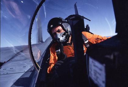 In a JASDF F-15DJ, high over Hokkaido.
