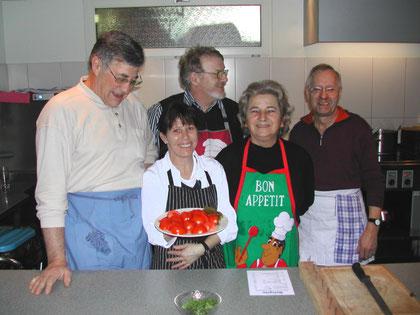 Die Küchen-Crew