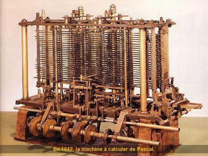 1642 erfand Blaise Pascal (1623 - 1662) eine mechanische Rechenmaschine, die addieren und subtrahieren konnte