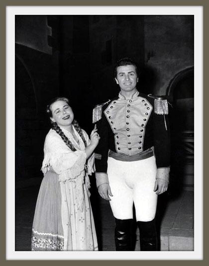 Don José - CARMEN - di G. Bizet - con R. Scotto - (Venezia 1956)