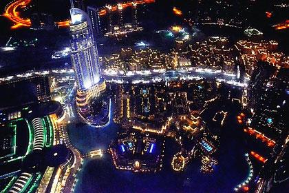 Dubai (Blick vom Burj Khalifa)