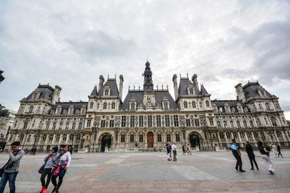 """Das Hotel de Ville oder einfach gesagt """"Das Rathaus von Paris"""""""