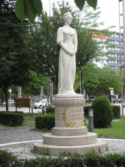 Denkmal in Salzburg: