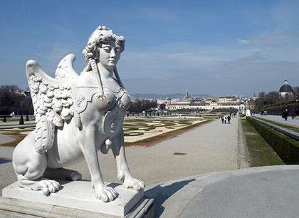 Schloss Belvedere, Wien. -