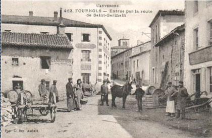 Fournols d'Auvergne dans le Haut Livradois (Auvergne)