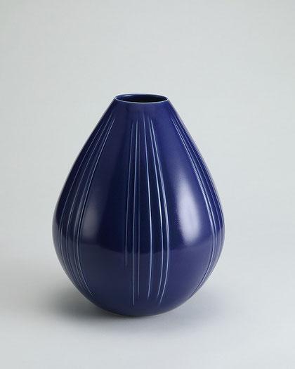 瑠璃釉壺  H37×D31