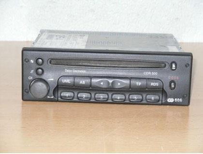 Opel Sintra CDR 500 Radio