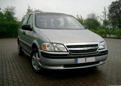 Opel Sintra Kühlergrill, Chevy Venture (letzte Variante)