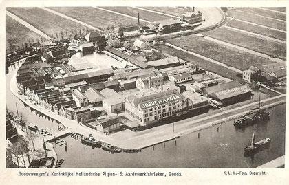 Ansichtkaart van Goedewaagen fabriek, 1932