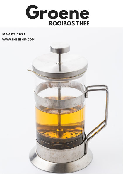 Groene rooibos thee by Thee is Hip!