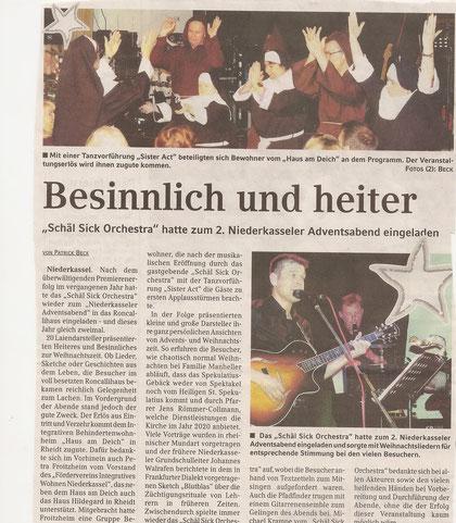 Extra-Blatt 21.12.2011