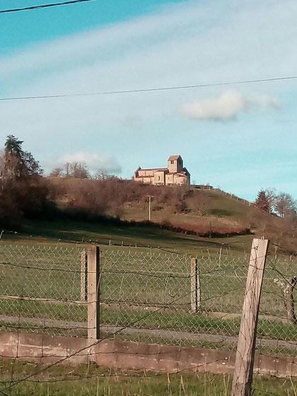 Eglise romane de Chatel de Neuvre, 7 décembre 2020
