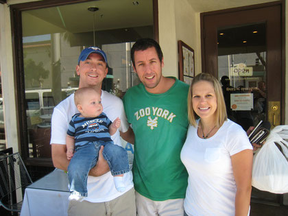 Weisz family running into Adam Sandler while on vacation in LA - 9/10