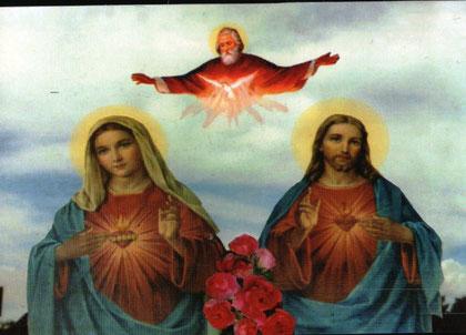 Gott Vater + Heiliger Geist + Jesus + Maria
