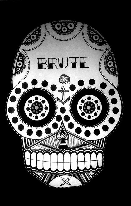 BRUTE- 65/100 cm - techniques mixtes - 2013