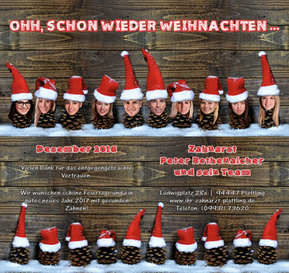 Ooh, schon wieder Weihnachten © Petra Rothenaicher