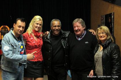 avec Erick Bamy et Ted  Sanders 2012