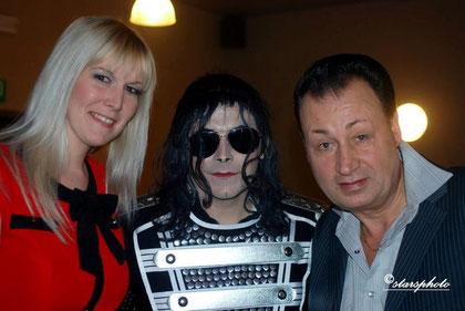 Kéty Lucy, Laurent Jackson et Ted Sanders (Février 2013)