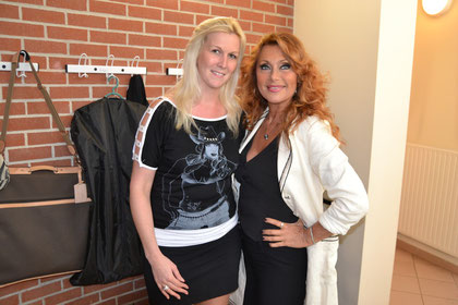 avec Julie Pietri 2012