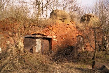 1999 г руины части  флигеля