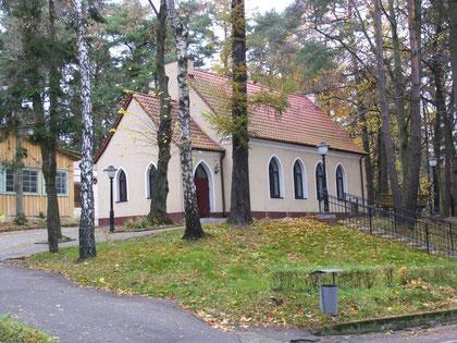Rauschen-Светлогорск. Бывшая баптистская капелла