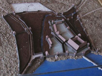 "Модель замка Инстербург в музее ""Замок Инстербург "" г. Черняховск."
