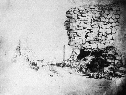 руины замка 19 в.