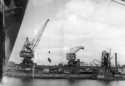 1947 г  порт причалы