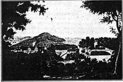 Гальтгарбен 1850 г.внизу имение Прилаккен