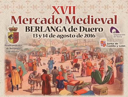 Programa del Mercado Medieval Berlanga de Duero
