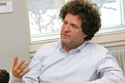 """Hanno Loewy, Präsident der """"Vereinigung Europäischer Jüdischer Museen"""" (AEJM)."""