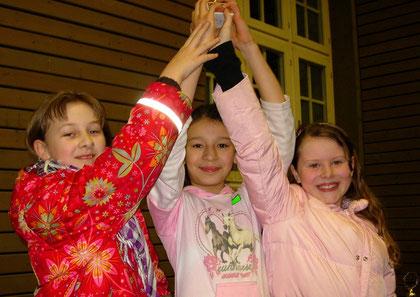 Wettkampfgruppe Mädchen 2. Platz Lerchenrainschule