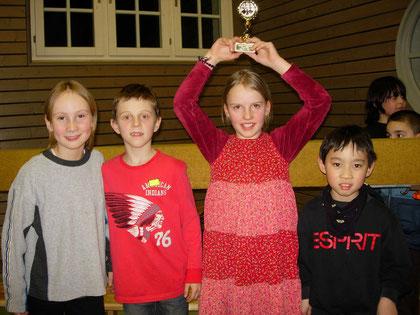 Wettkampfgruppe Grundschule Riedseeschule 3. Platz
