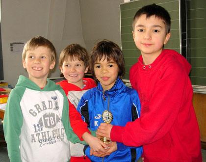 Wettkampfgruppe Grundschule 2. Platz Gaisburgschule