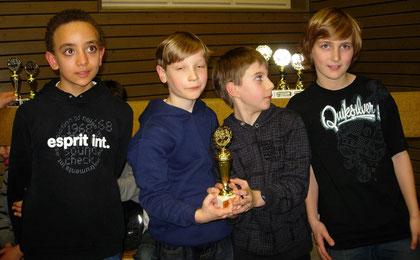 Wettkampfgruppe 4 und 5: 1. Platz Karls-Gymnasium