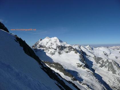 Der 3 Gipfelige Piz Roseg