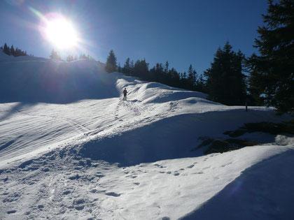 Abstieg vom Bleicherhorn